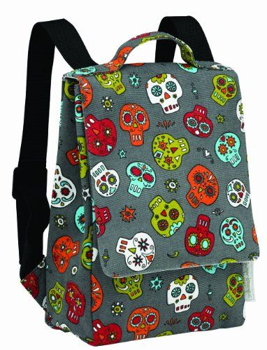 LOL...matches my lunch bag!!!  Sugarbooger Kiddie Play Back Pack, Dia De Los Muertos Sugar,http://www.amazon.com/dp/B003I85R9A/ref=cm_sw_r_pi_dp_0g0qtb18WQH3GEG2