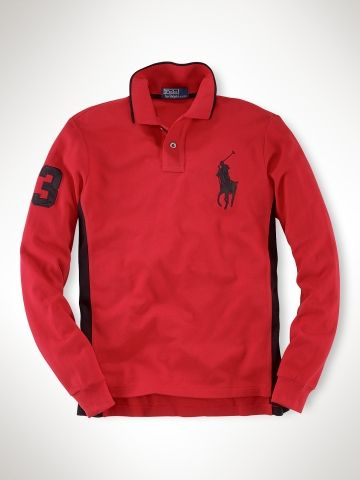 Polo Ralph Lauren Men's Custom Leather Detail Big Pony RL2000 Red Polo  Black 12210830 | Polo by Ralph Lauren | Pinterest | Custom leather, Polos  and Polo ...