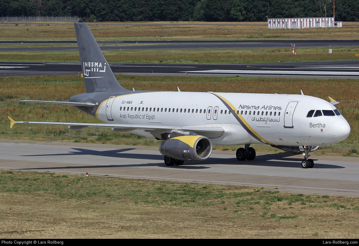 Su Nma Nesma Airlines Airbus A320 232 Cn 1697 Airbus Airlines Aircraft