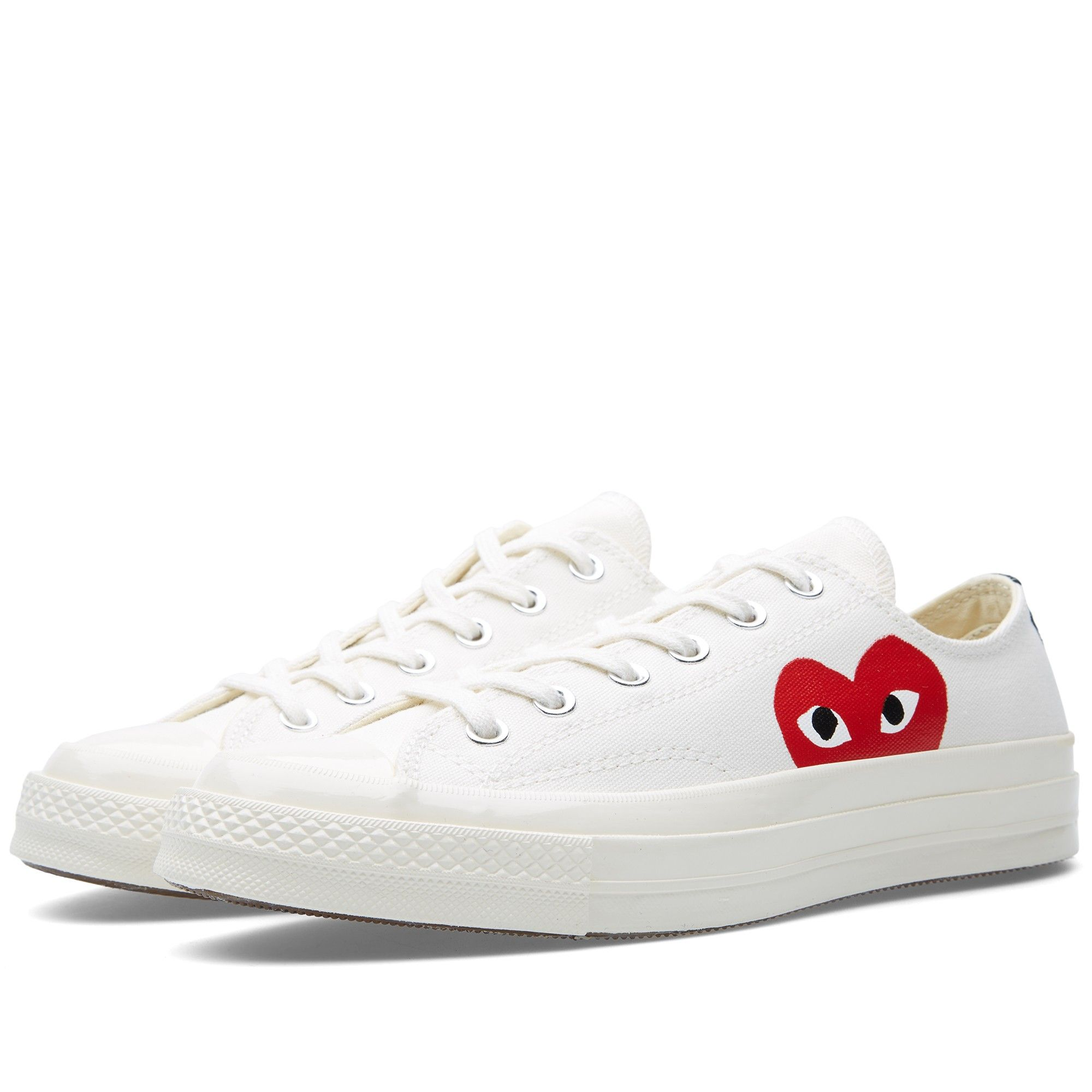 order online cute cheap good selling Comme des Garcons Play x Converse Chuck Taylor 1970s Ox ...