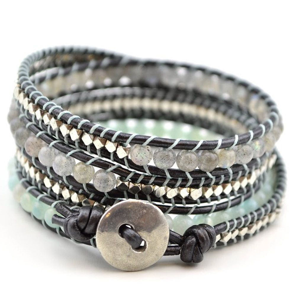 Free Wrap Bracelet Project Tricks To Laddering Reflections