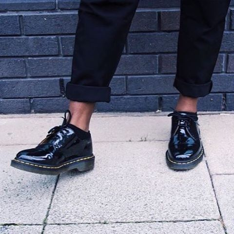 Dr Martens On Instagram Docs Of The Day The 1461 Shoe In Patent Lamper Shared By Kosaamt Drmartenstyle Dr Martens Shoes Outfit Magic Shoes Shoes
