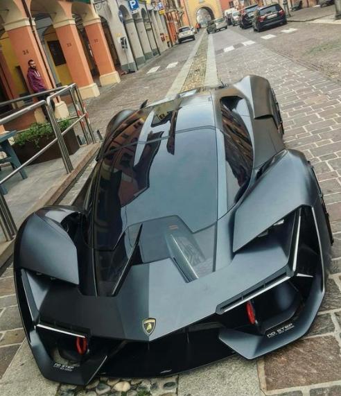 Lamborghini Terzo Millennio Concept Lamborghini Lamborghiniterzo