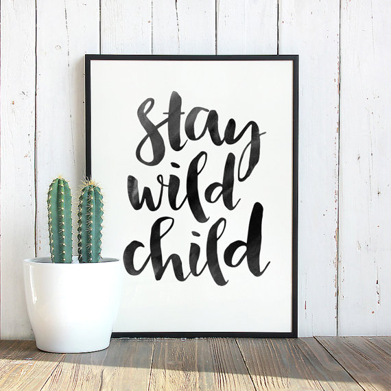 Printable Quotes, Kids Room Print, Printable Wall Art