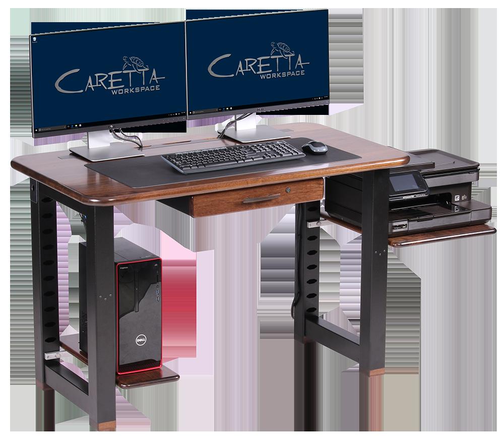 Awe Inspiring Small Computer Desk With Printer Shelf Small Computer Desk Printer Shelf Desk