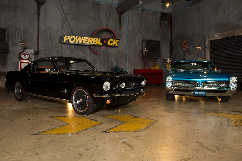 PowerBlock shows off couple's custom muscle cars