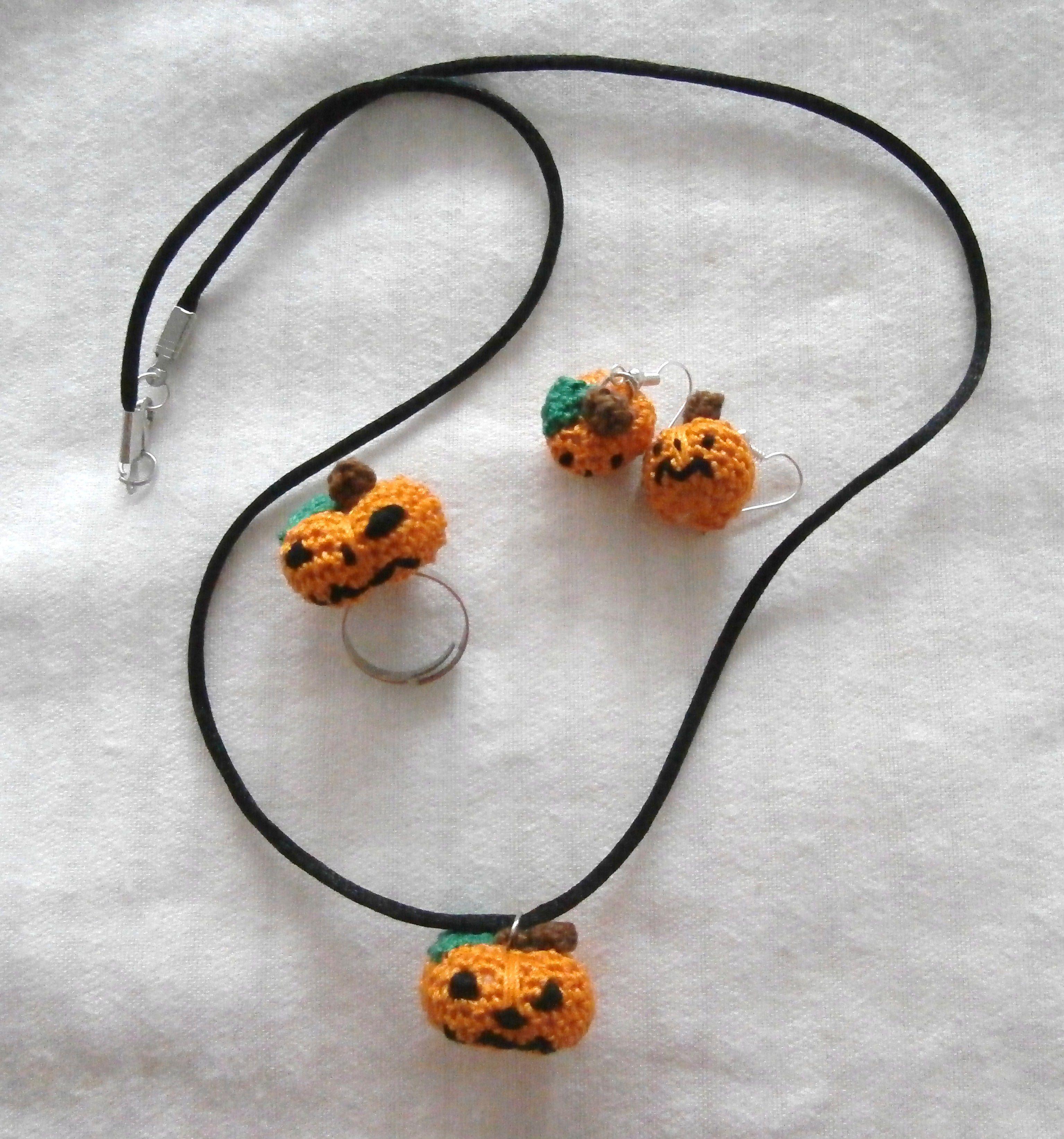 cositas a ganchillo | Calabazas, Conjuntos y Halloween