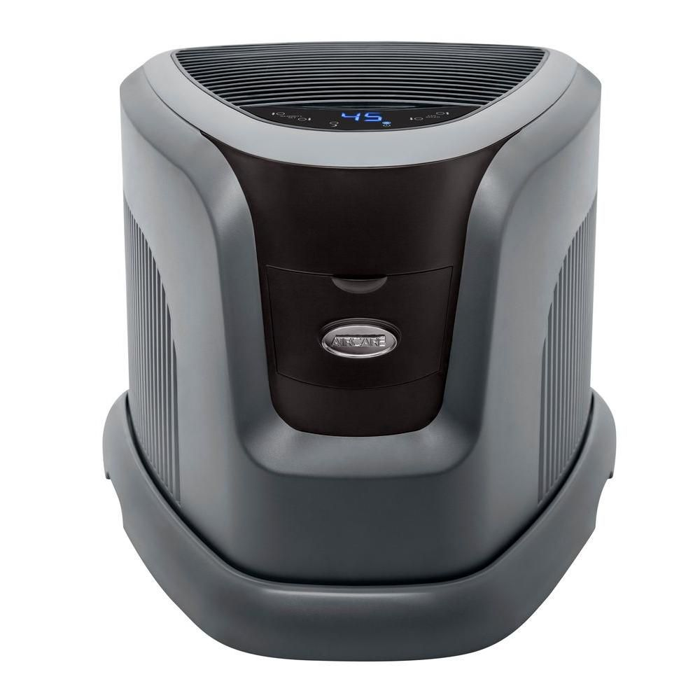 Aircare Designer Series 3 5 Gal Evaporative Humidifier For 2 400 Sq Ft Ea1201 The Home Depot Design Top Air Purifiers Contemporary Console