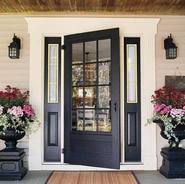 15 idées pour une porte déco éclatante de couleur House colors