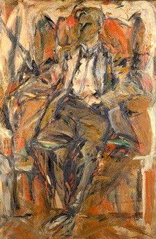 Portrait of Willem de Kooning,   Elaine De Kooning