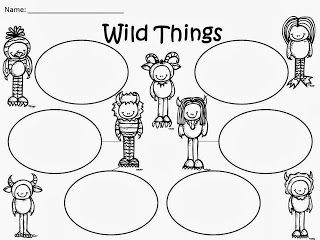 Free: Where The Wild Things Are Bubble Map. Freebie For A