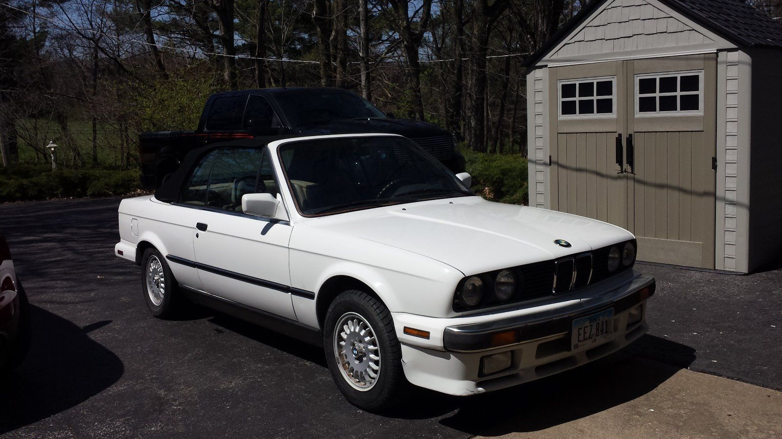 Car Brand Auctioned:BMW: 3 Series Base Convertible 2 Door 1988 Car