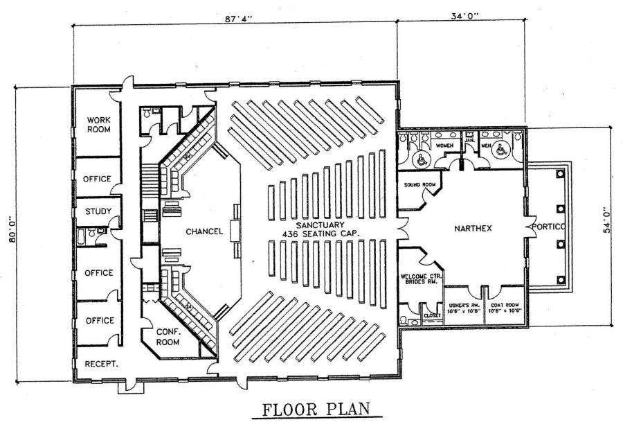 Home design amazing church designs and floor plans small for Floor plan church