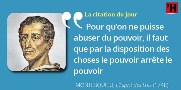 Montesquieu Il N Y A Point Encore De Liberte Si