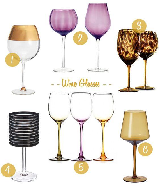 unique wine glasses stemware pinterest wine glass. Black Bedroom Furniture Sets. Home Design Ideas