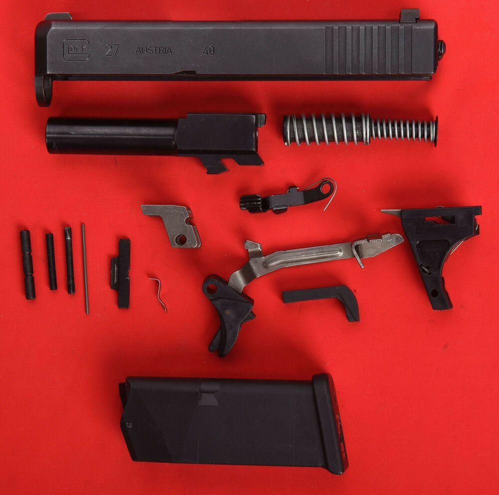 Ad(eBay) Glock 27 Gen 3 complete OEM Parts Kit + Slide 40S&W