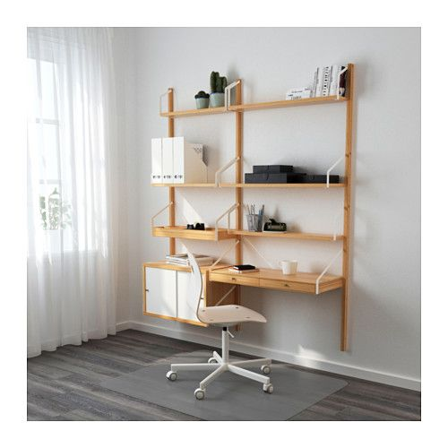 closet office with ikea etagere cd. Black Bedroom Furniture Sets. Home Design Ideas