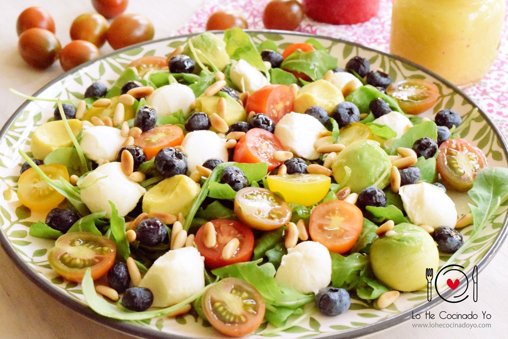 Receta De Ensalada Con Pi Ones Recipe Food Foodie Http  ~ Recetas De Ensaladas Faciles Y Originales