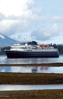 MV Matanuska, a ferry that goes from Bellingham, WA to various