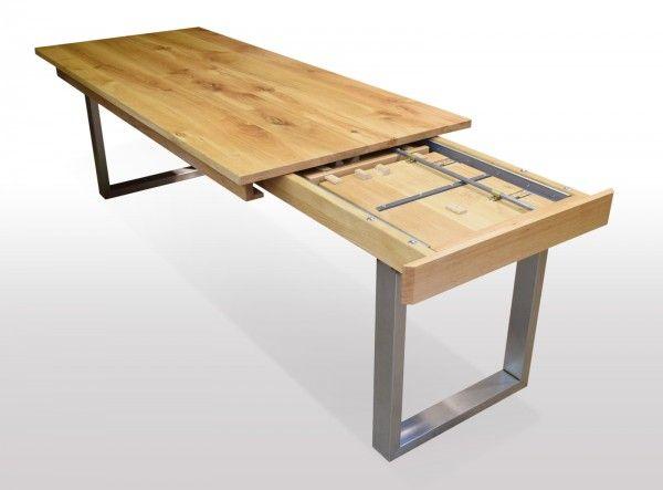 Tisch Wildeiche Massiv Breite 80cm Lange Wahlbar Mit Bildern
