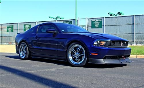 SVE Mustang Series 2 Wheel & Lug Nut Kit - 20X8.5/10 Chrome (05-14)