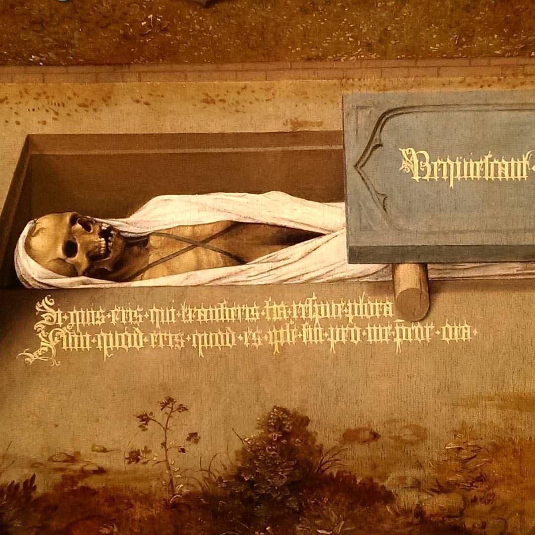 Memorial Tablet Detail Master Of Spes Nostra C