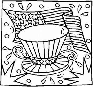 patriotic coloring pages coloring pages for kids - Patriotic Coloring Pages Kids