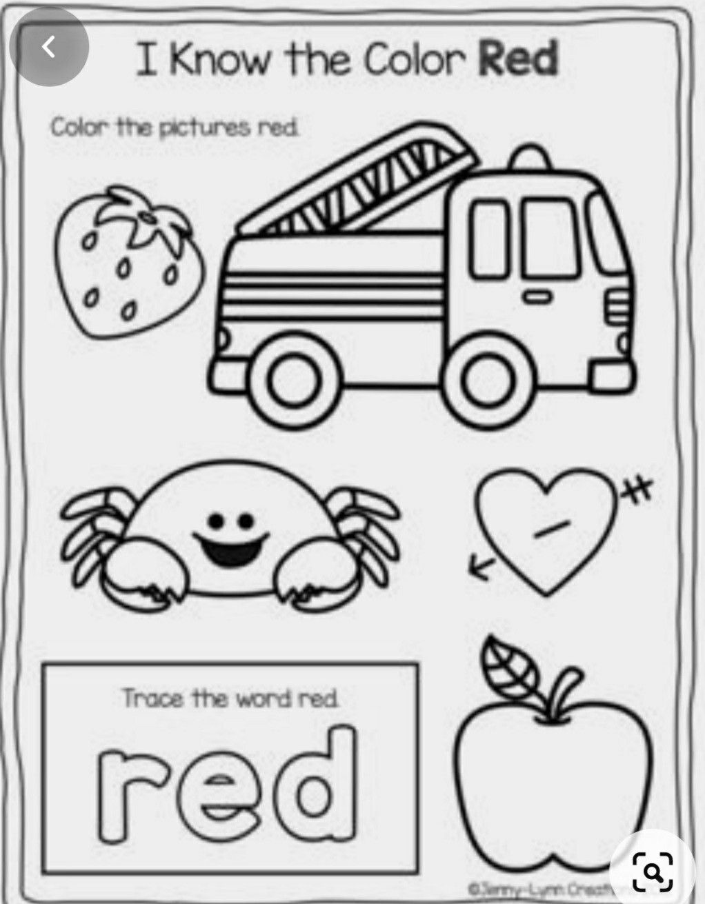 Pin By Holly Fitzgerald On Education Toddler Color Worksheets For Preschool Preschool Colors Teaching Colors [ 1311 x 1022 Pixel ]