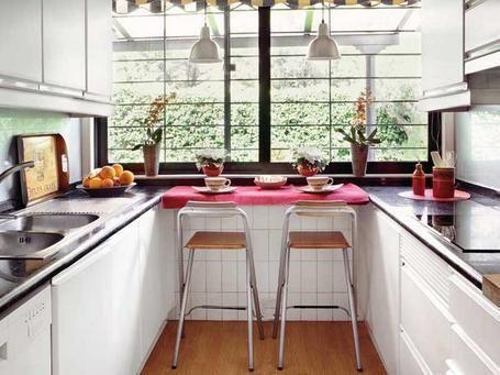 Como decorar cocinas alargadas Cocina Pinterest Cocinas