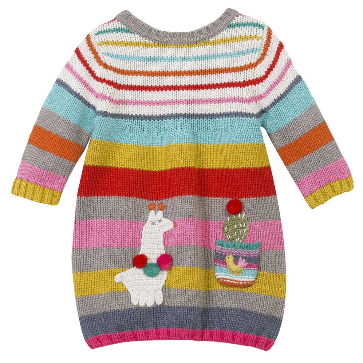 """""""Lamas"""" Dress for #baby #girl #catimini #animalprint www.catimini.com.au"""