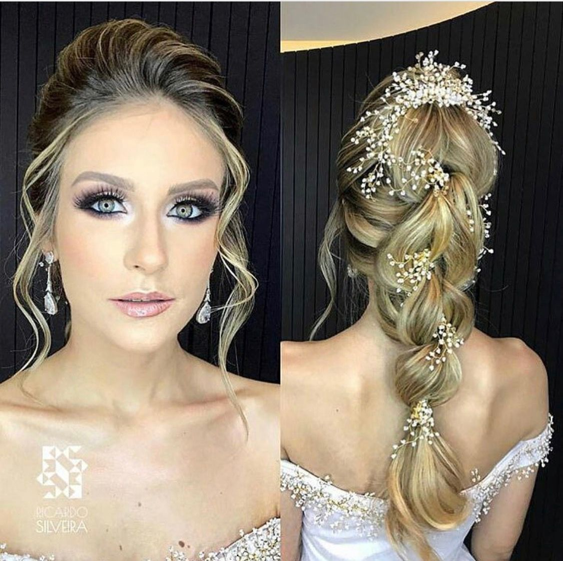 Front and back hair pinterest