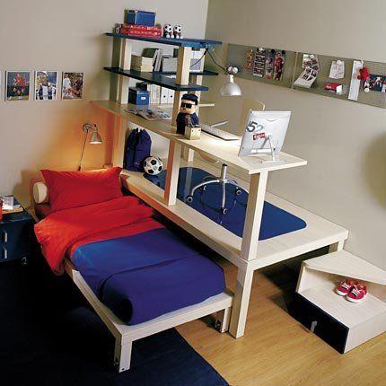 Un lit pour enfant qui concilie couchage et rangement 2 ...