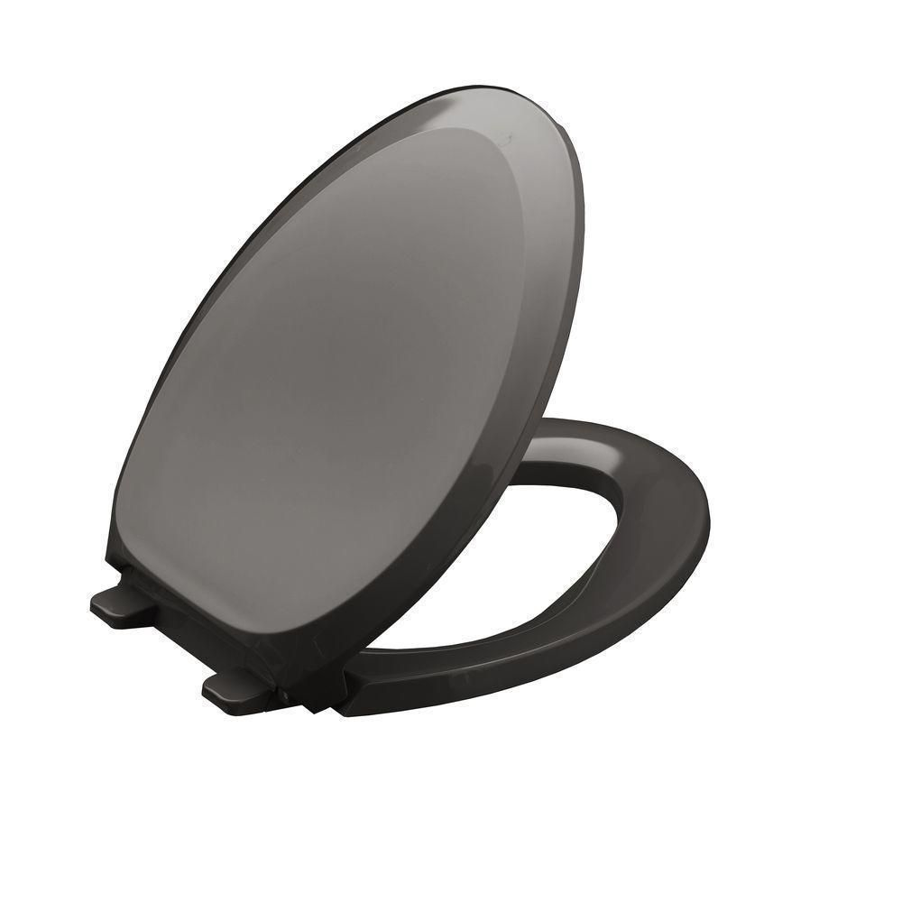 Sensational Kohler French Curve Quiet Close Elongated Toilet Seat With Machost Co Dining Chair Design Ideas Machostcouk