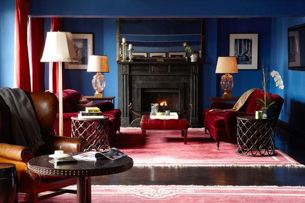Light And Bright Rooms Do Not Have To Be White. The Room Below Is Colored · Red  Living ... Part 87