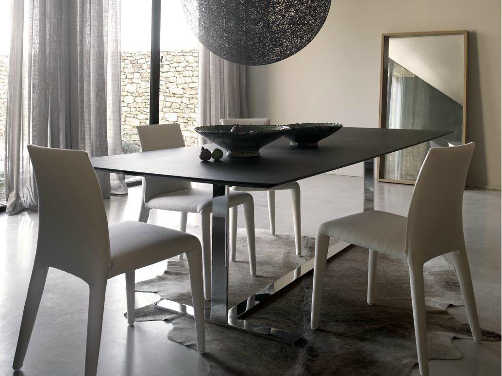 Tavoli Da Pranzo Design : Eileen tavolo rettangolare by b table tavolo design sala da