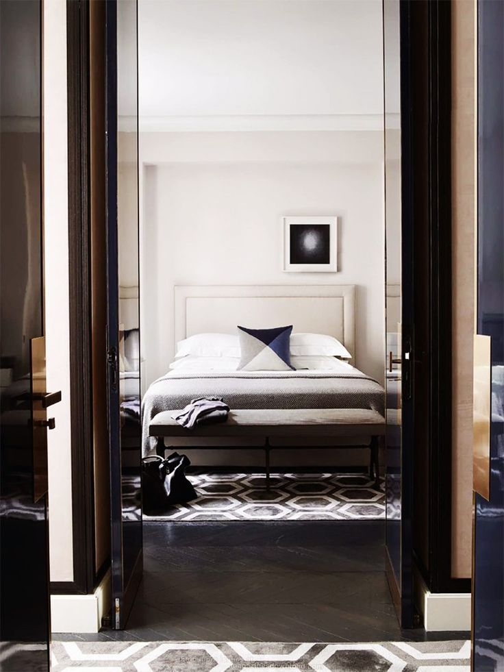 Masculine Luxe In The Bedroom