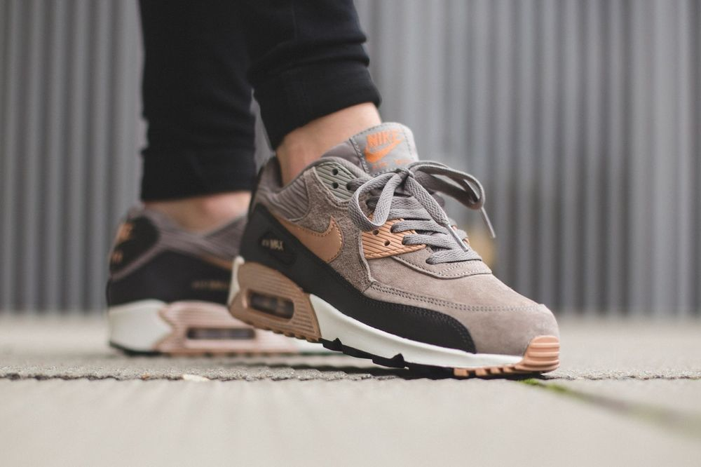 Air Max 90 Médaillon Gris Et Bronze