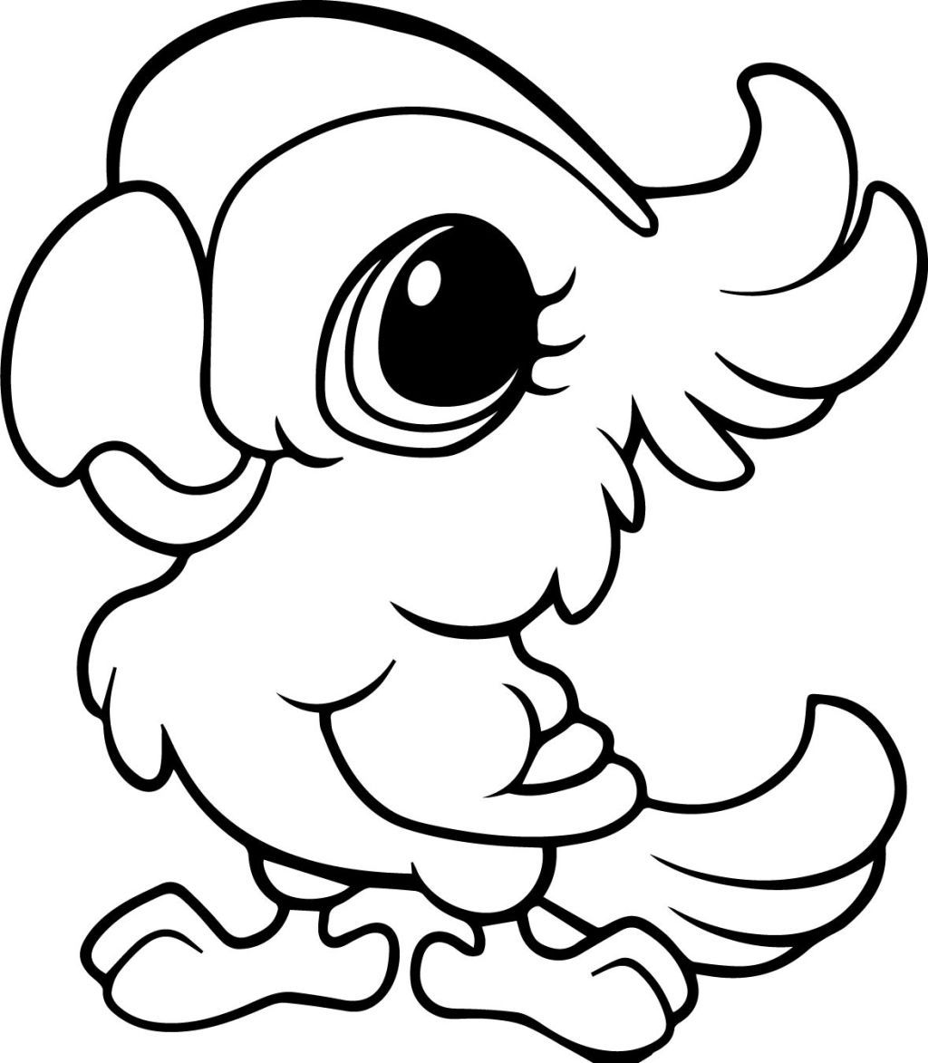 25+ Cute free coloring pages animals info