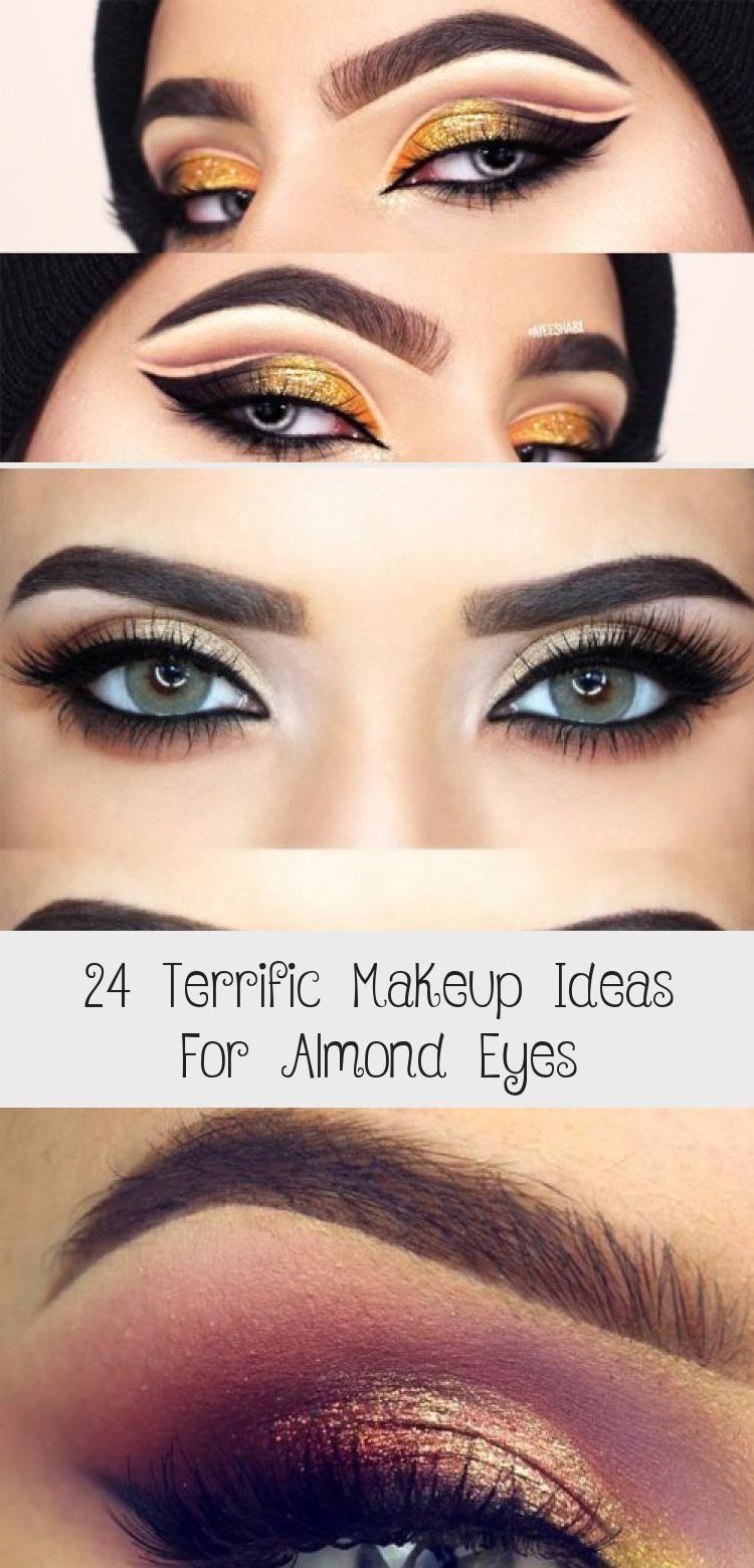 24 Terrific Makeup Ideas For Almond Eyes Smokey Eye Makeup
