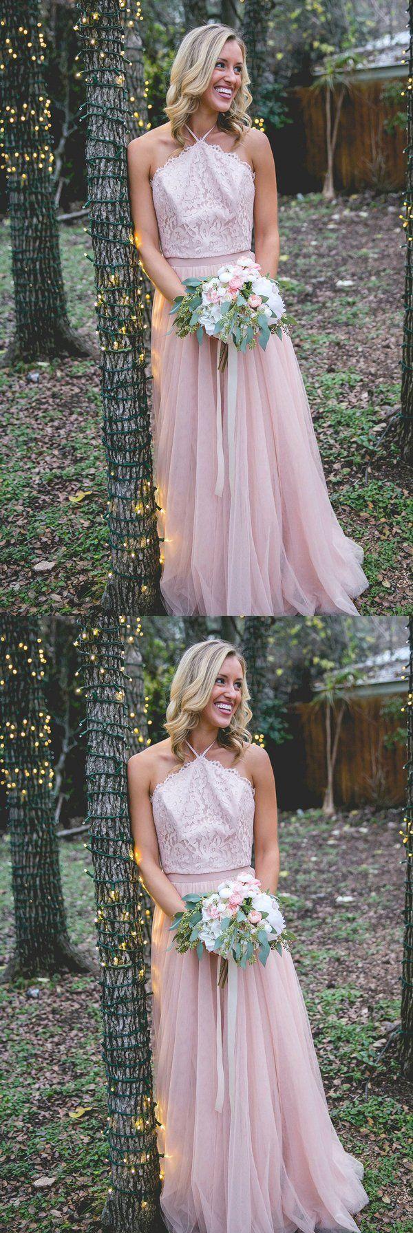 Wedding dress for evening  country lace long prom dress sleeveless aline wedding dress formal
