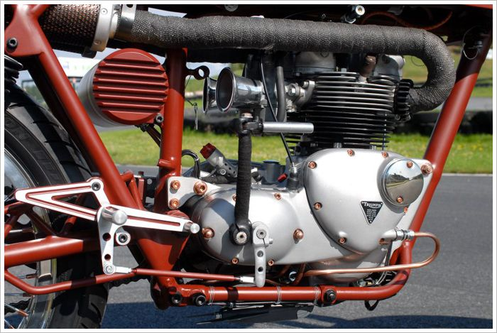 1968 TriumphDaytona - Pipeburn - Purveyors of Classic Motorcycles, Cafe Racers & Custom motorbikes