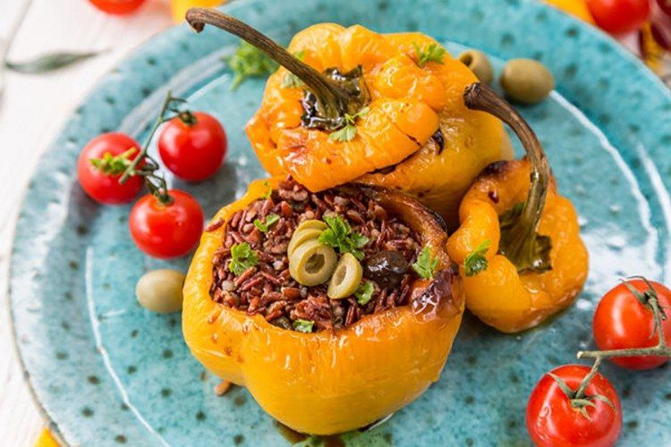 Stuffed Bell Peppers #stuffedbellpeppers