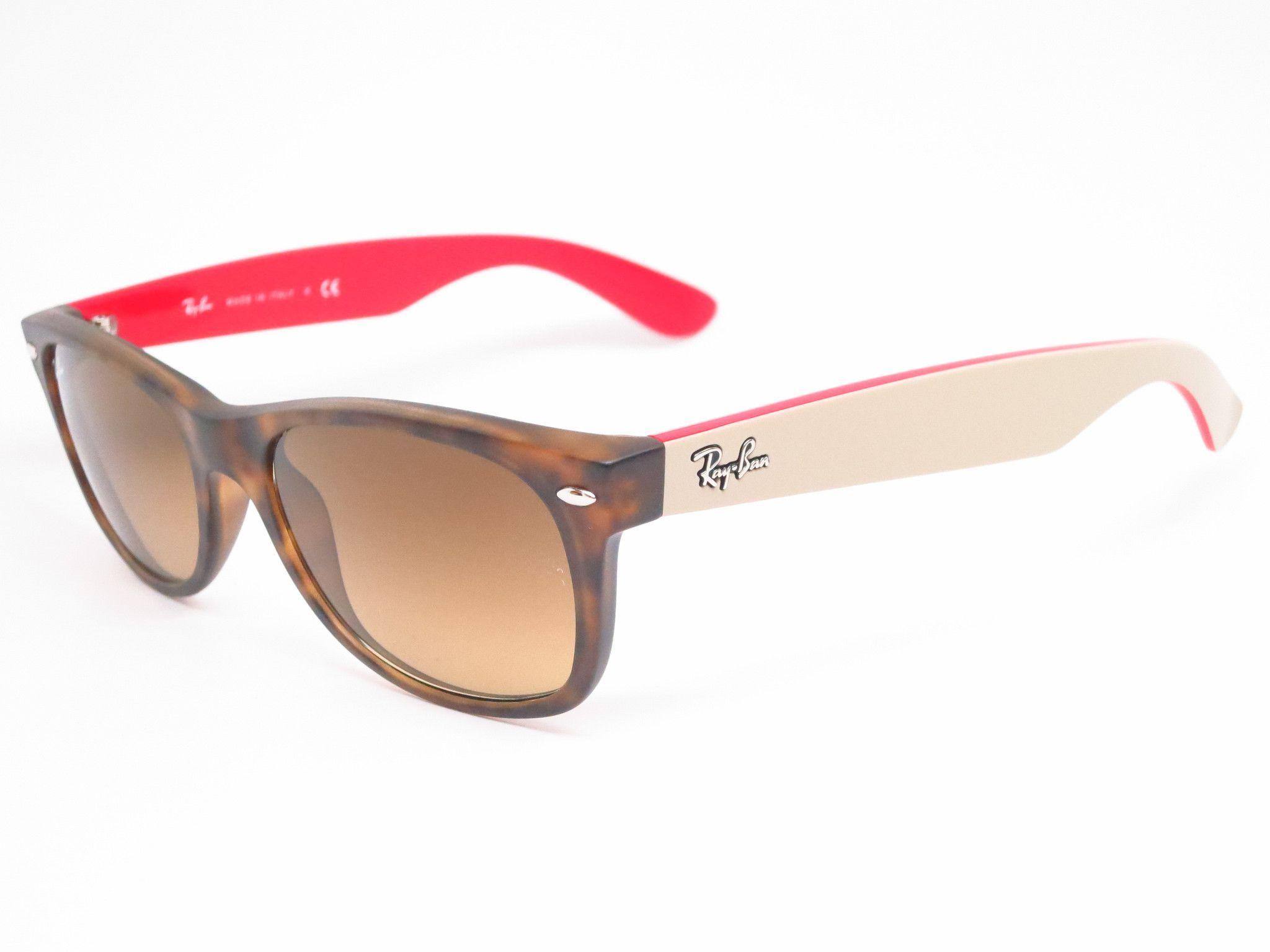 Ray-Ban RB 2132 New Wayfarer 6181 85 Matte Havana Sunglasses   Pinterest 1a0defca23