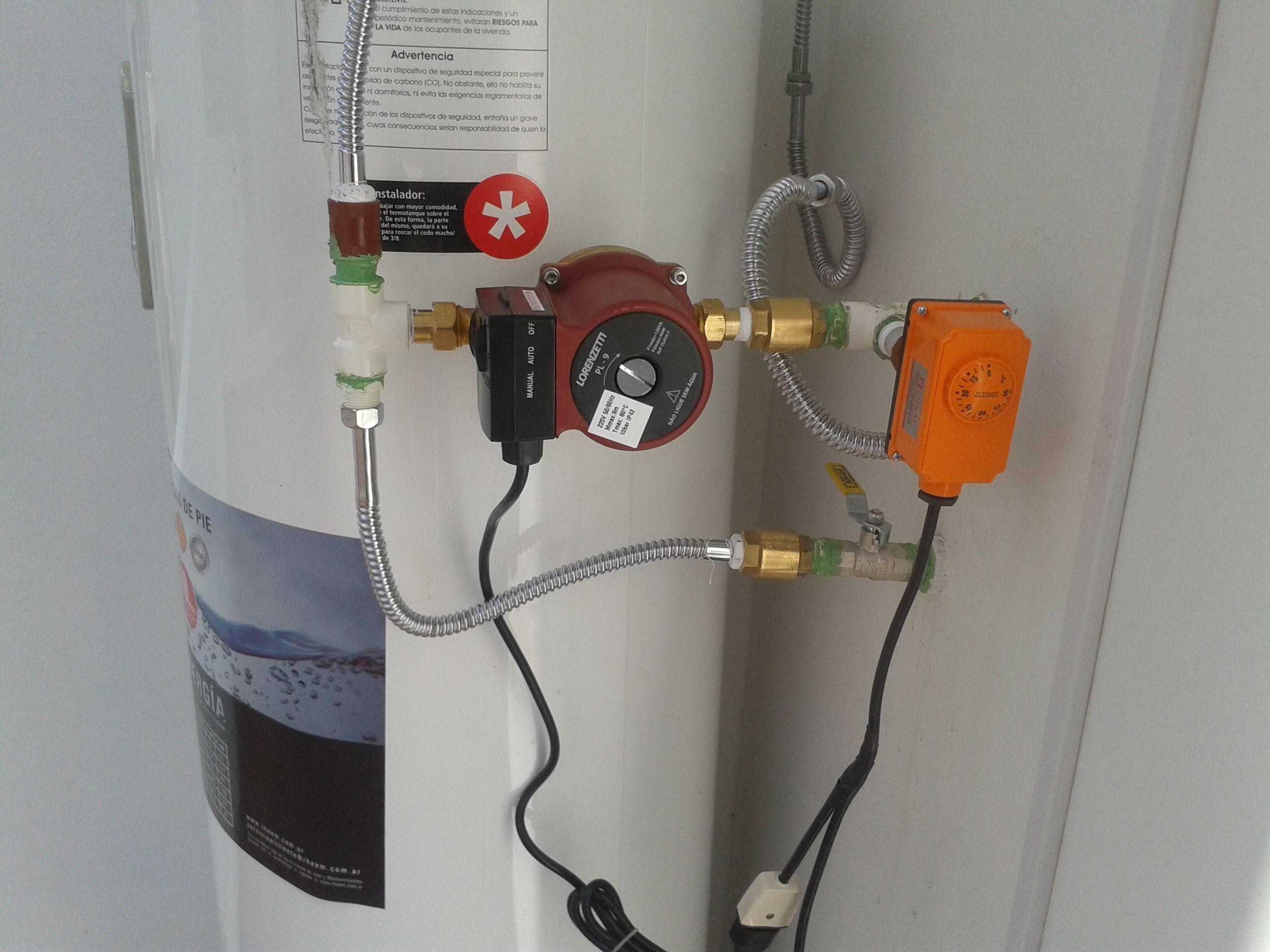 Recirculante instalado en el barrio judicial Sucre Bolivia Sistema recirculante automático que no permite perdida
