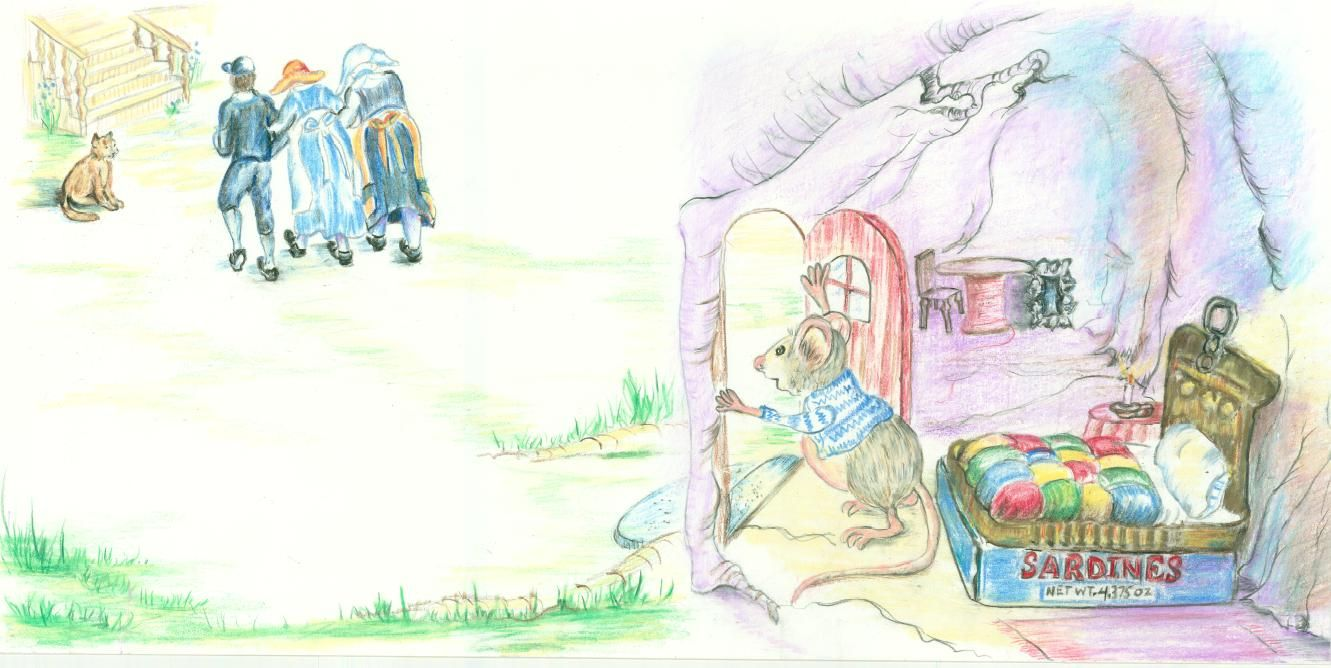 Colored Pencil Illus Children S Book Painting Colored Pencils Art