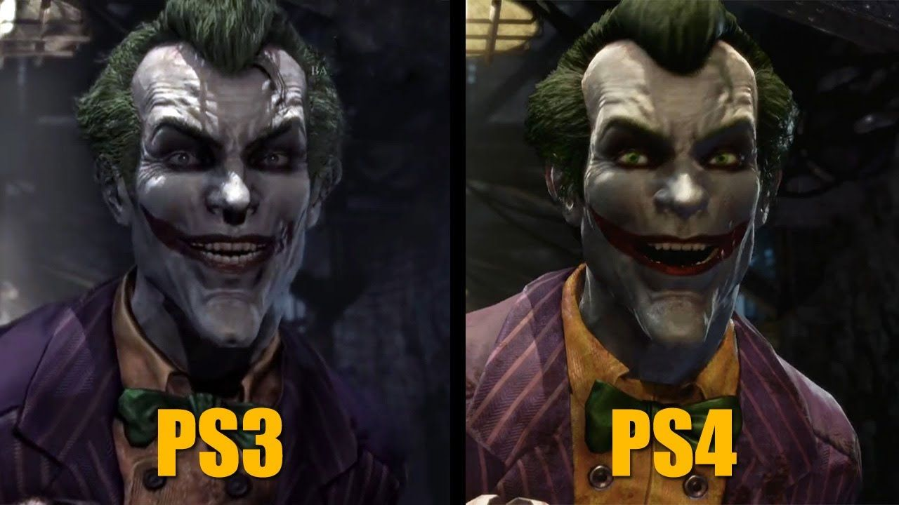 Batman Return To Arkham Official Side By Side Comparison Video