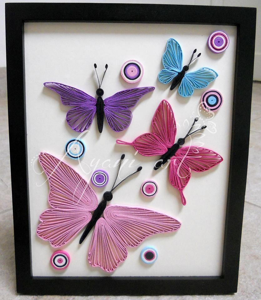 28 ... for Quilling Butterfly Tutorial  111ane