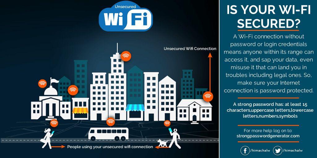 Is your wifi secured travel app hotspot wifi wifi