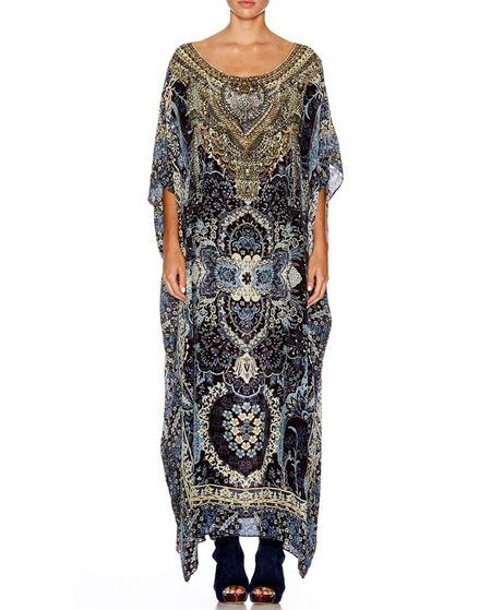 Multi-Wear Round Neck Kaftan