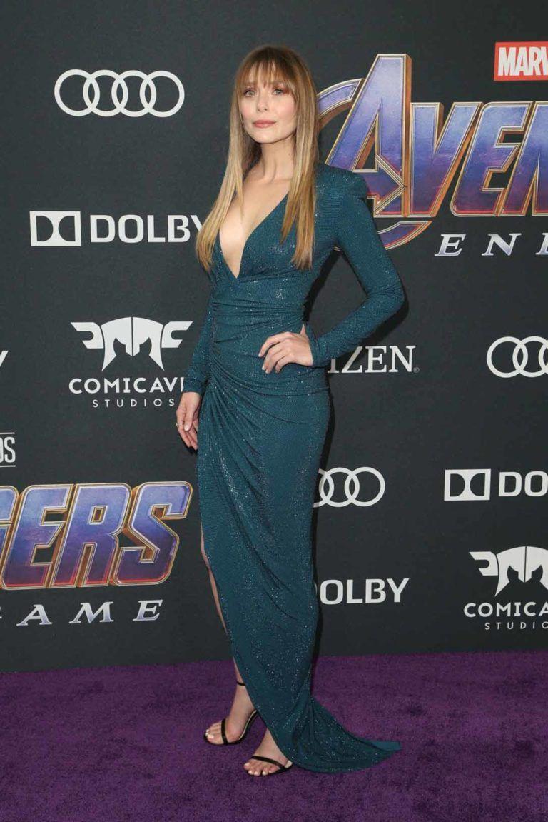 Elizabeth Olsen Attends Avengers Endgame Premiere Los Angeles Celebvegas Elizabeth Olsen Elizabeth Olsen Scarlet Witch Elizabeth